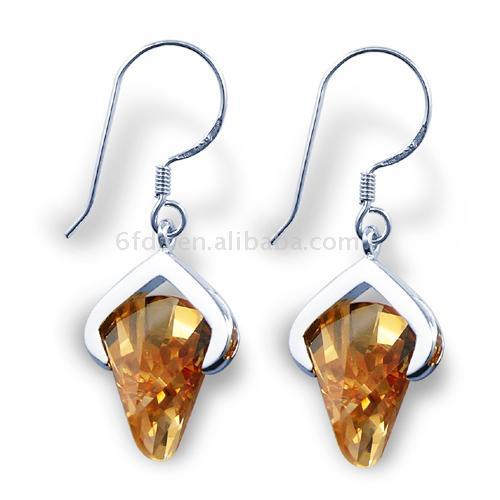 925 Sterling Silver Earrings (925 Sterling Silber Ohrringe)