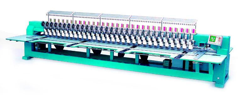 Embroidery Machine with Double-Reel Sequin Device (Вышивальная машина с двойным Устройство R l Sequin)