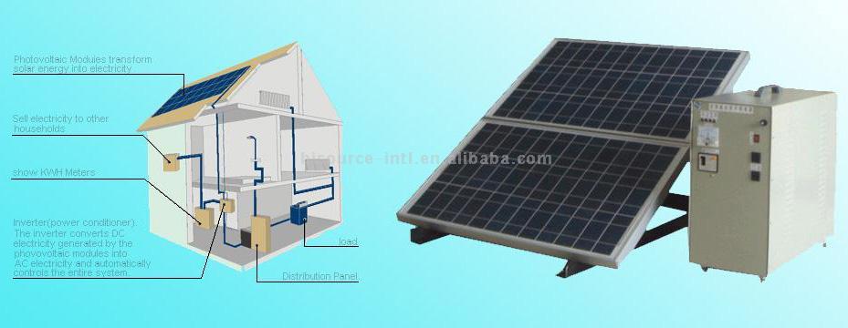 Solar Power System (Солнечные энергосистемы)
