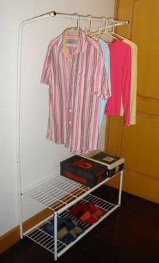 Clothes Rack with Two Layer