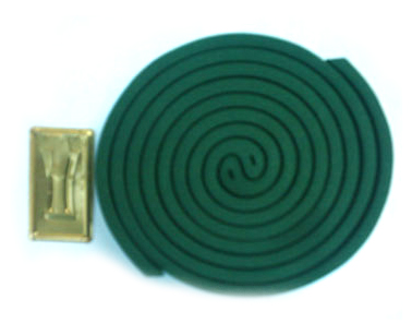Green Mosquito Repellent Incense Coil