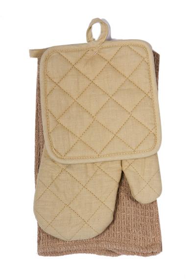 Oven Mitt, Potholder & Hand Towel (Oven Mitt, Кухонная тряпка-прихватка & Hand Полотенце)