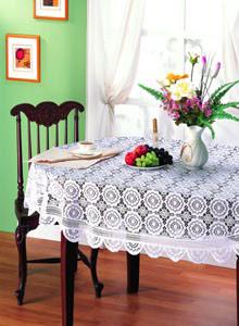 Lace Table Cloth (Кружева Скатерть)