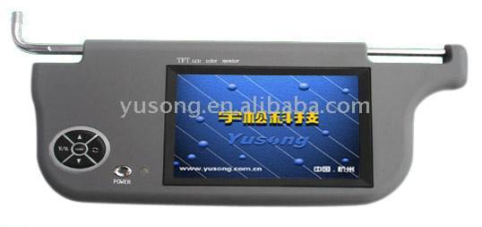 "Sun Visor 7"" TFT LCD Monitor (Солнцезащитный козырек 7 ""TFT LCD монитор)"