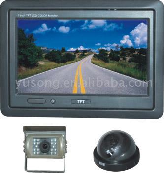 """7"""" Color Rear View System (7 """"цветной Вид сзади система)"""