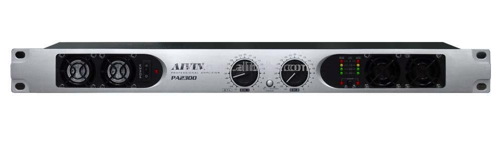 Professional Two Channel Anolog Amplifier (Professional Anolog Zweikanal-Verstärker)