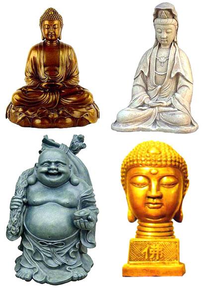 Resinic Buddha Statue