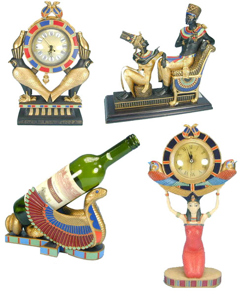 Polyresin Egyptian Items