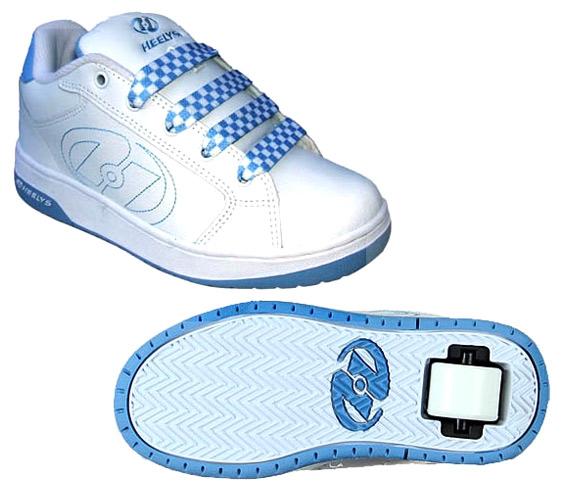 Roller Shoes (White and Blue ) (Роликовые обувь (белый и синий))