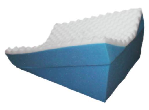 Ordinary Foam in Pieces or Blocks