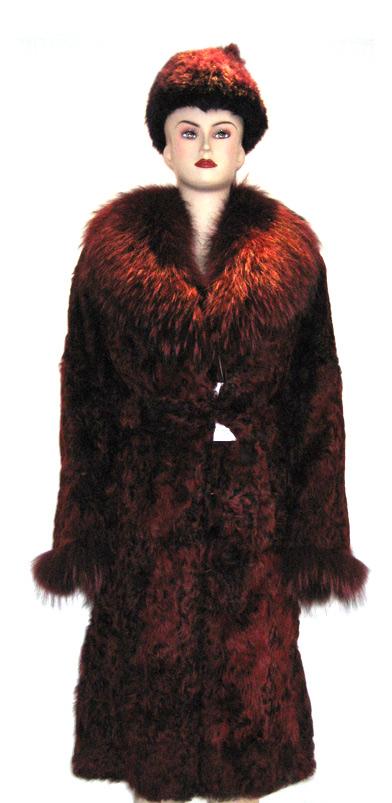 Lamb Fur Coat (Lamb Fur Coat)