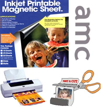 Magnetic Printing Paper (Магнитная Печать Бумага)