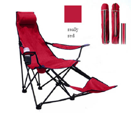 Folding Chair With Foot Rest