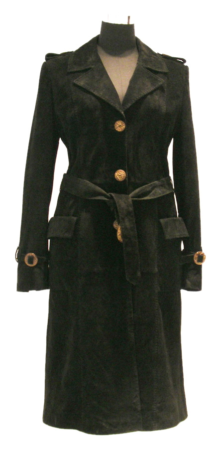"Women`s Pig Suede Overcoat (Женские Pig Suede ""Шинель"")"