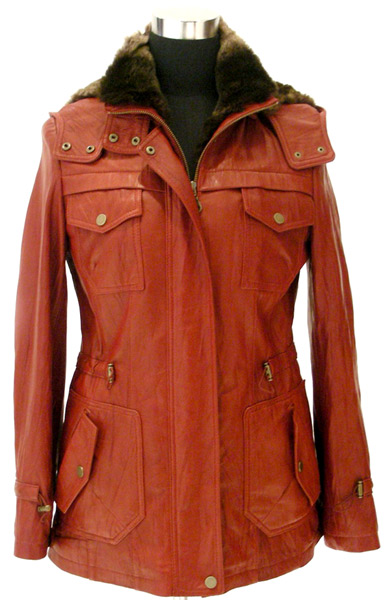 Women`s Lamb Leather Coat