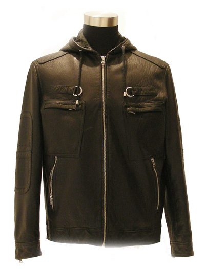 Men`s Lamb Leather Washed Coat