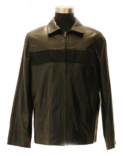 Men`s waxy cow leather