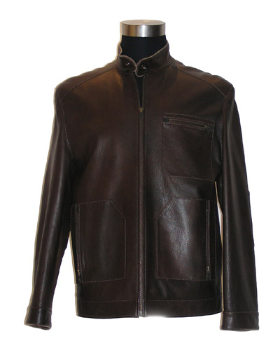 Men`s Lamb Leather Coat