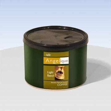 Coffee in Round Tube Tin