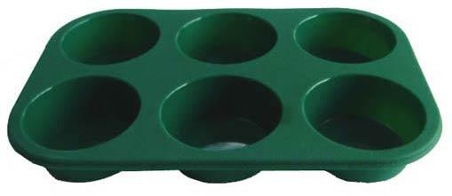 Silicone 6-Cup Muffin Pan (Силиконовые 6 кубка Muffin Pan)