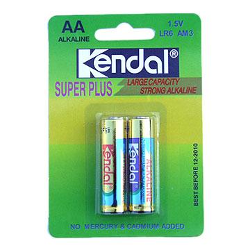 Alkaline AA Size Battery (Щелочная аккумуляторов типоразмера АА)