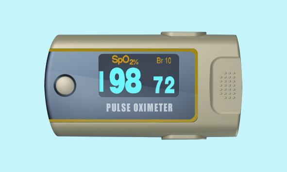 Fingertip Pulse Oximeter (Нажатием Пульс оксиметр)