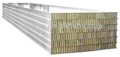 Self-Cleaning Sandwich Panel with Flameratardant Paper Honeycomb