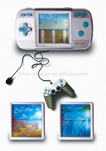 Palm Shape Game Player with Single Joystick (Palm форма Game Player с Единым Джойстик)