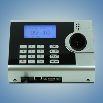 Fingerprint Time Clock with Flash Function