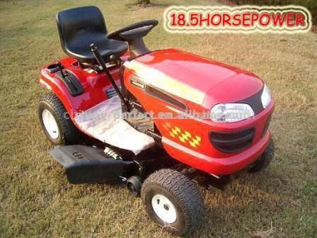 Powerful Petrol Lawn Tractor (Мощный бензиновый трактор)