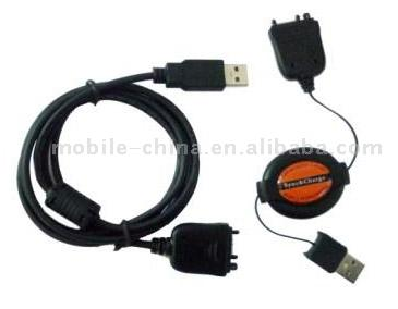 PDA Retractable Cable/Straight Cable (КПК Retr table Cable / прямой кабель)