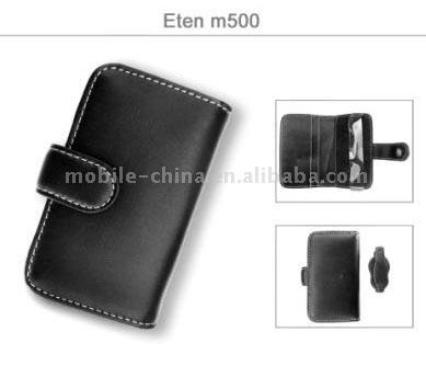 PDA Eten M500 Leather Case (КПК Eten M500 Кожаный чехол)