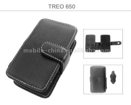 PDA Palm Treo 650 Leather Case (КПК Palm Treo 650 Leather Case)