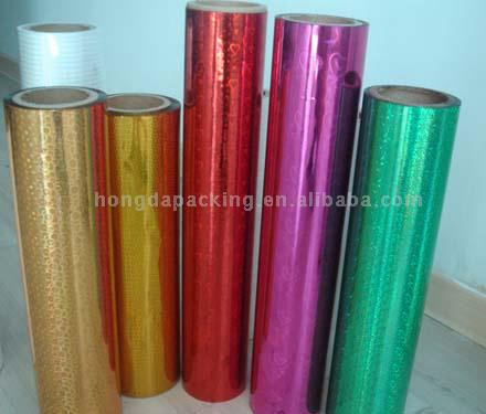 OPP Laser Holographic Packing Film