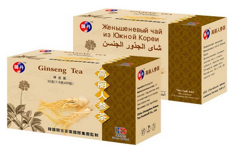 Korean Ginseng Tea (Корейский женьшень чай)