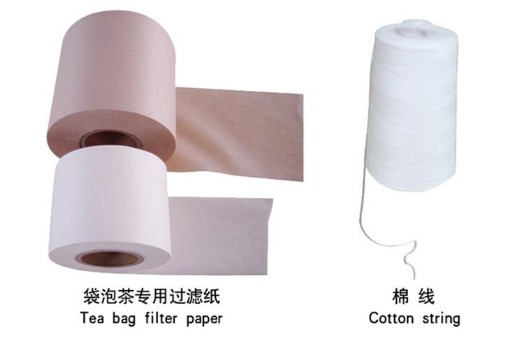 Tea Bag Paper and String (Tea Bag Papier und String)