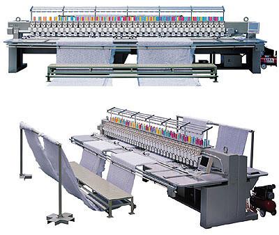 TNHX Series Computer Quilting Embroidery Machine (TNHX компьютера серии Лоскутное вышивальная машина)