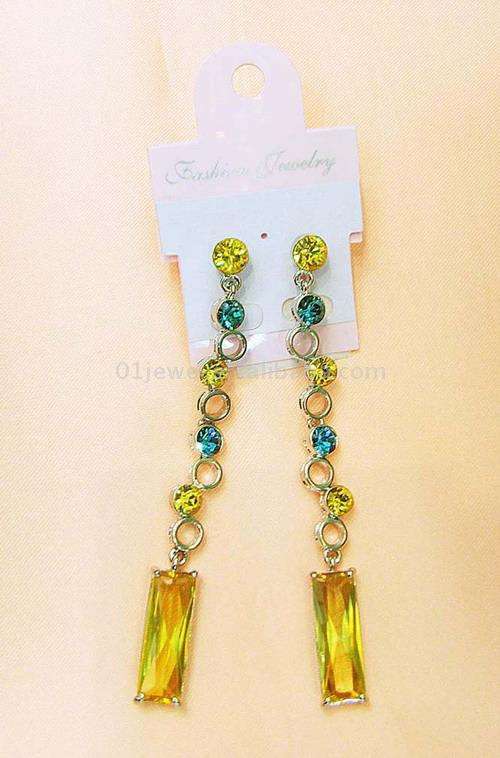 Rhinestone Earrings (Rhinestone серьги)