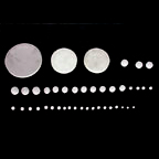 Circle Plano Blank Lens (Круг Плана Бланк объектива)