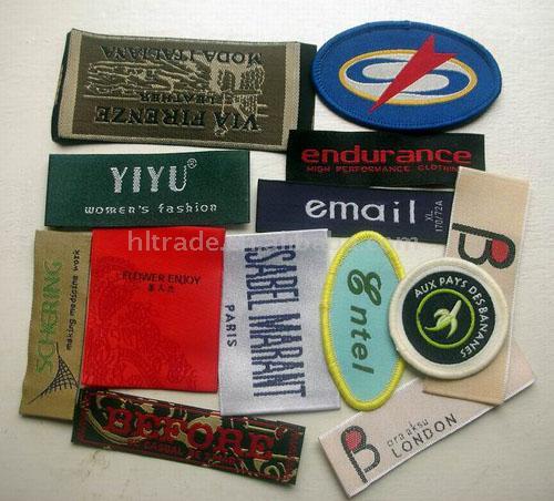 Woven Label (Тканые этикетки)