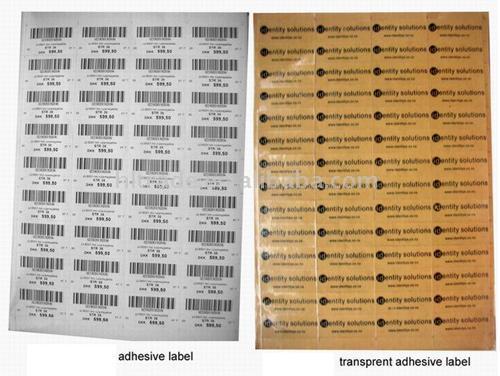 Adhesive Label (Клейкой этикетки)