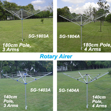 Aluminum Rotary Airer