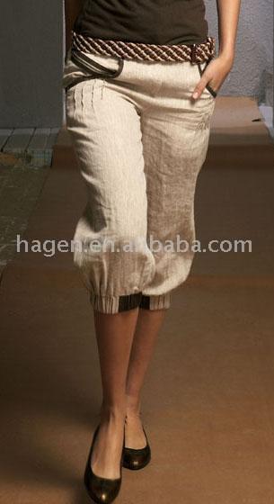 Ladies` Linen Pant