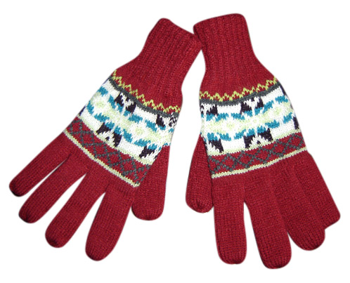 Acrylic Knitted Glove ( Acrylic Knitted Glove)