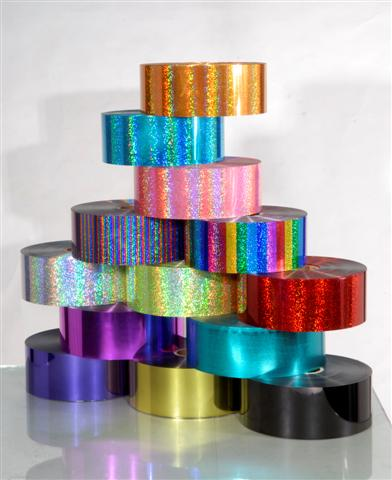 Holographic, Plain, Multi-color Films For Embroidery&Sewing