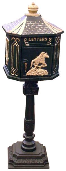 Casting Iron Mail Box (Литье Почтовый ящик)