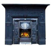 Casting Iron Fireplace (Литье Каминные)