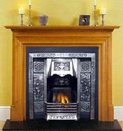 Cast Iron Fireplace (Чугунный камин)