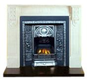 Casting Aluminum Fireplace (Литье алюминиевых камин)