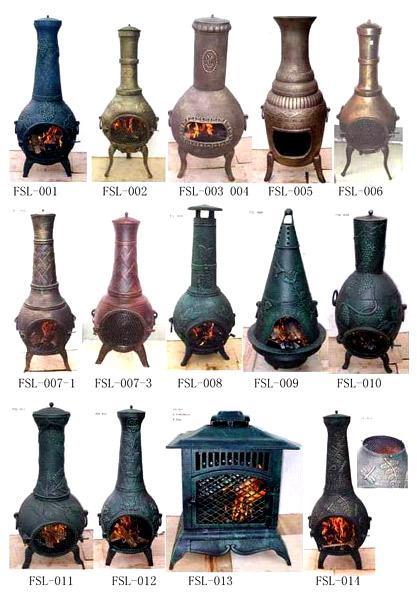Casting Iron Stove (Chimeneas)